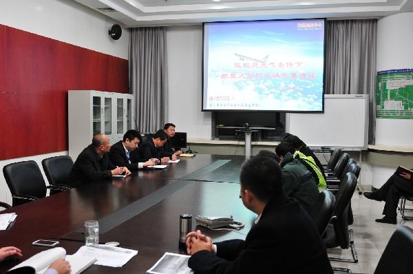 东航西北组织应急演练 力保春运航班安全