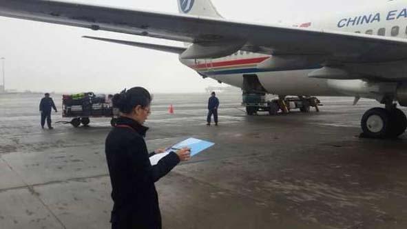 面对恶劣天气——东航云南地服多措施备战春运