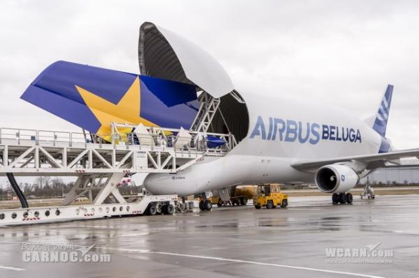 日本天马航空首架空客A380开始总装