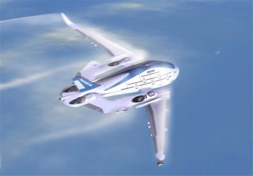 """图集:未来概念飞机""""天空鲸鱼"""""""