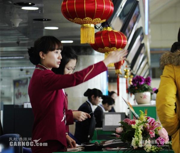 南航大连春节长假期间航班正点率超过98%