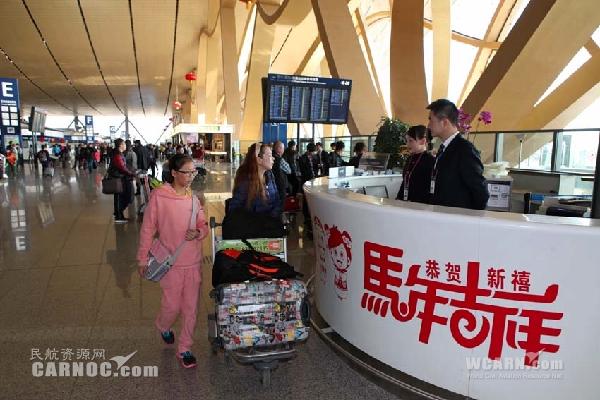 春节黄金周 长水机场迎送旅客63.8669万人次