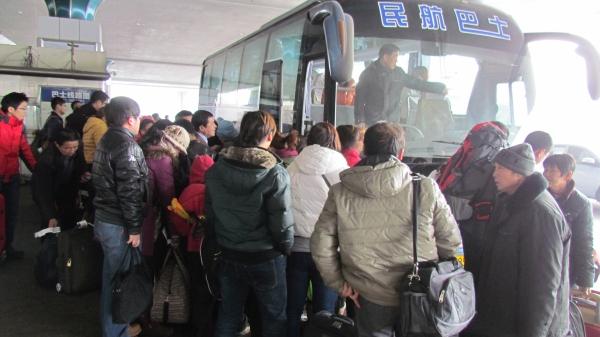 新疆机场民航巴士春节共运送旅客2.4万人次