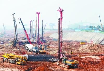 T3航站楼建成后武汉天河机场扩大4倍