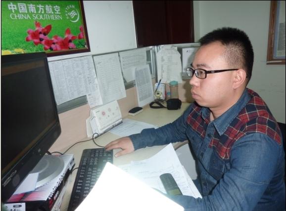 南航值班达人田启才连续两年在办公室过除夕