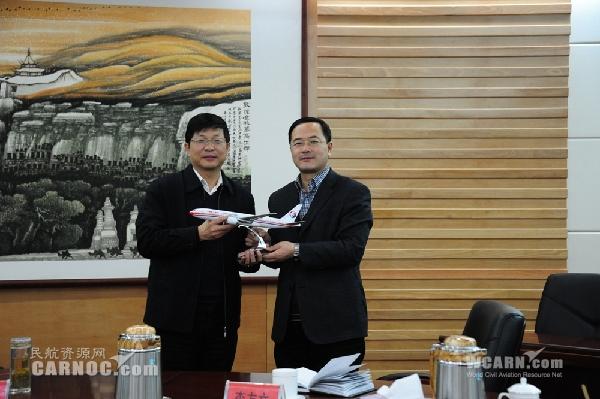东航甘肃与甘肃省广电总台拟建战略合作关系
