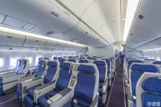 Premium economy class of China Southern 777-300ER