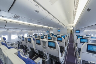 China Southern Airlines has selected Thales' TopSeries AVANT in-flight entertainment system on its 777-300ER