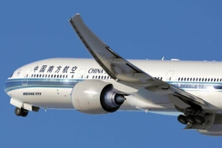 China Southern Airlines took delivery of its first Boeing 777-300ER on Feb. 25, 2014