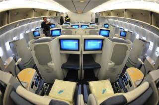 图:波音777-300er公务舱 摄影:萧嘉宁     .图片
