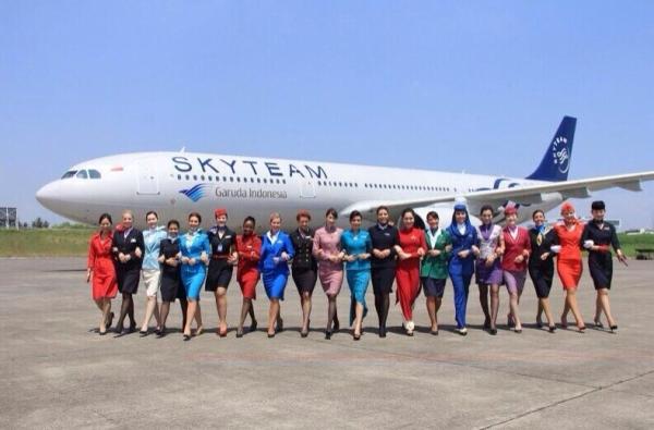 Garuda indonesia today joins skyteam alliance stopboris Choice Image