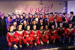 南航新疆举办女职工健美操大赛 (摄影:李丕文)