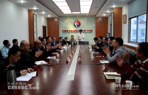 东航四川分公司拜会西北 共商飞行机队发展