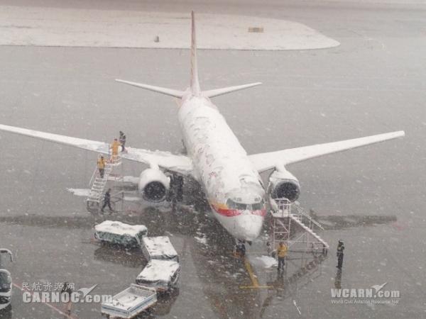 雪雾沙尘天气齐袭乌鲁木齐 新疆空管积极应对
