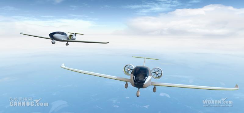 """""""e-fan""""电动飞机主体结构全部采用复合材料"""