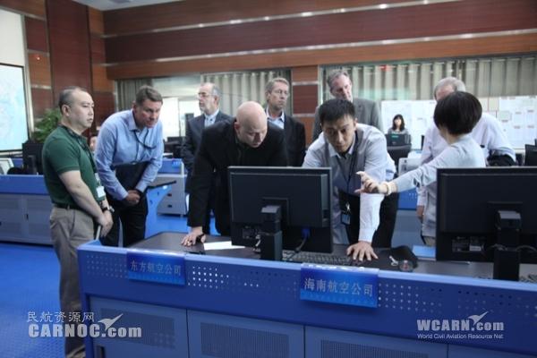 美方ACP专家组到华北空管局开展现场调研