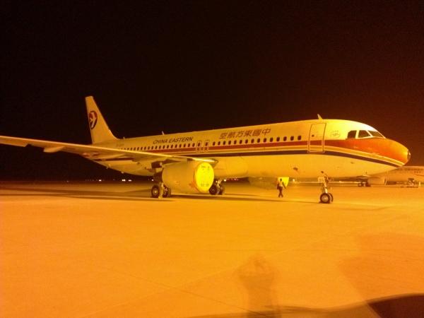 飞机的星形�yb�9�._东航西安机务完成浙江分公司b-2229飞机8c检