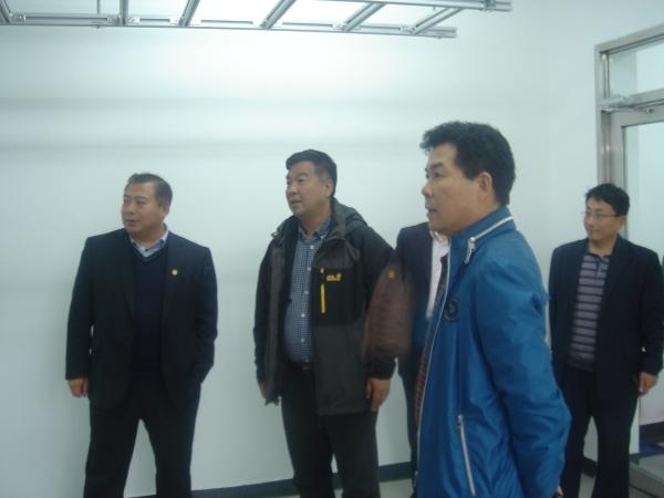 東北局及黑龍江監管局領導來佳木斯機場視察