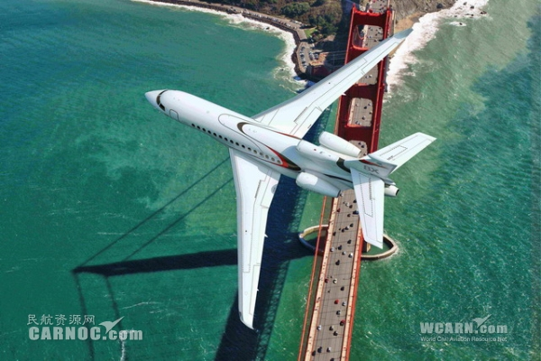 达索宣布推出超远程猎鹰8X 预计2015年首飞