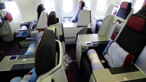 飞行游记:优雅不失稳重的奥地利航空商务舱