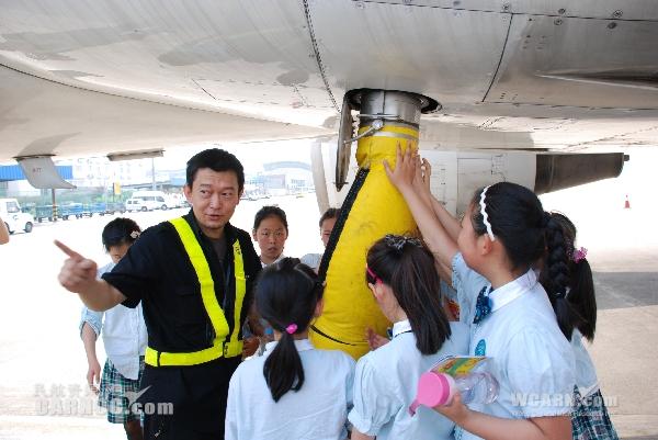 """东航浙江开展""""快乐六一""""儿童航空体验活动"""