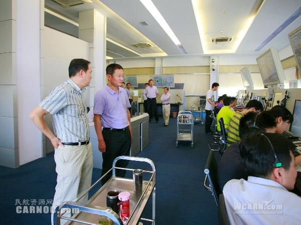 并希望青岛空管站以青岛新机场的建设为契机
