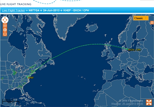 """外媒:CIA飞机曾飞往欧洲试图""""引渡""""斯诺登"""