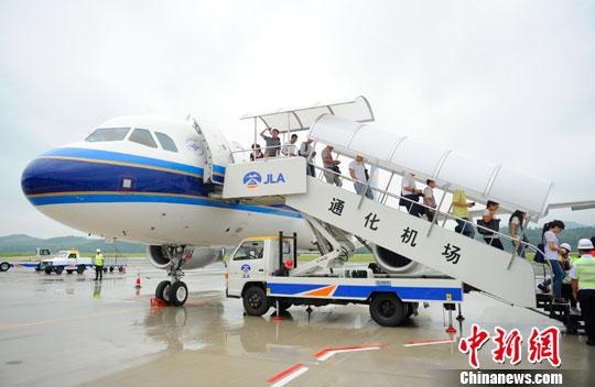 吉林通化机场通航 拓展赴朝旅游空中线路