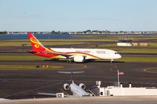 分析:未来海航将飞北美10城市 787飞机助力