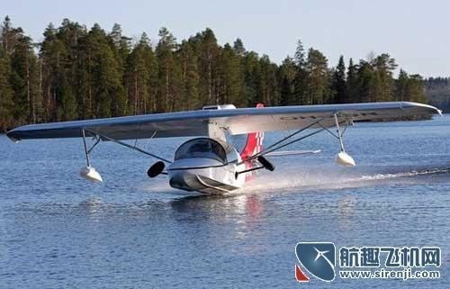 海王水陆两用轻型运动飞机将进入中国市场