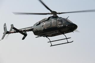 永翔通航新进首架Bell407GX直升机试飞成功