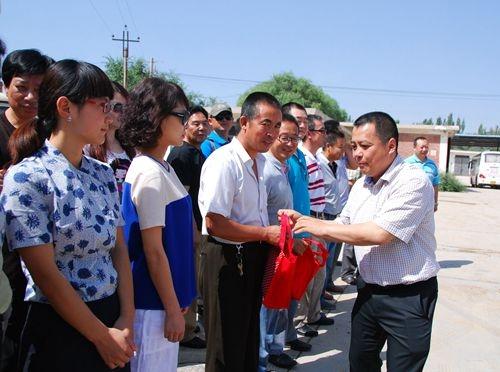 东航副总一行赴甘肃分公司慰问一线员工