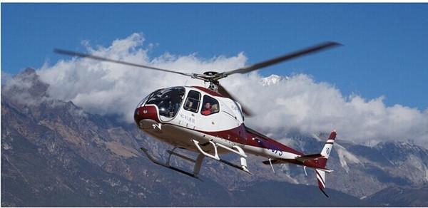 和利通航托管的AC311直升机在昆明24小时待命