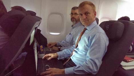 飞行游记:汉莎全新747-8高端经济舱初体验