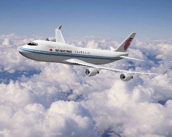 图:国航747-400货机