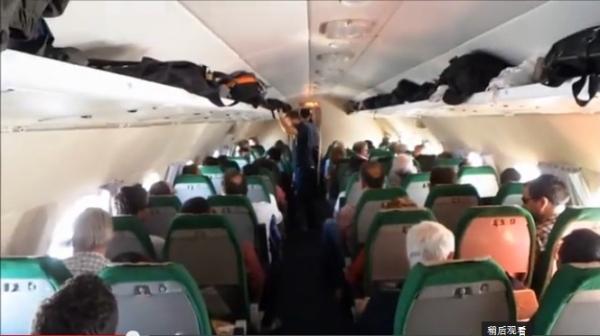 揭秘高丽航空前世今生 古董伊尔-18飞行视频