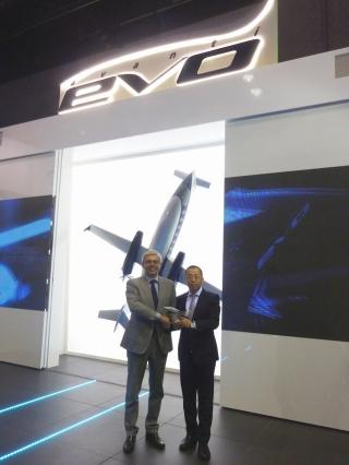 耀莱航空技术与比亚乔公司签署独家代理协议