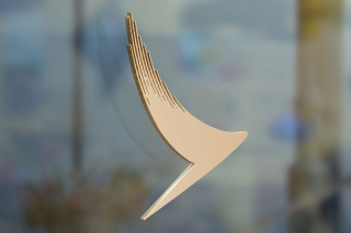Cathay Pacific brushwing sign