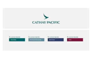 Cathay Pacific cabin class colors