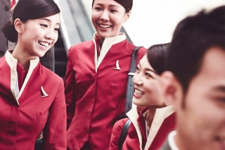 Cathay Pacific flight crew