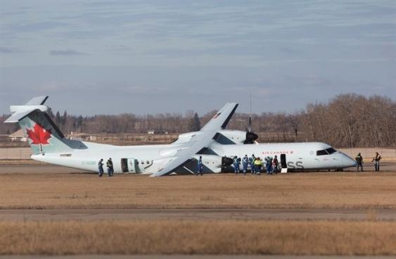 加航一飞机起飞时爆胎 4乘客受轻伤