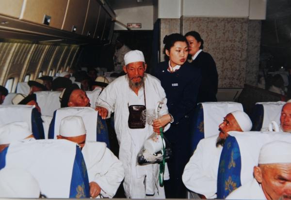 相伴20年 南航为新疆穆斯林架起空中朝觐路
