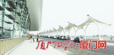 厦门机场T4年底投用 出发层设30个值机柜台