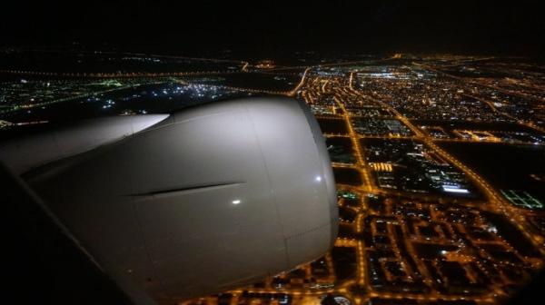 """飞行游记:科威特—华盛顿的""""蓝色狂想曲"""""""