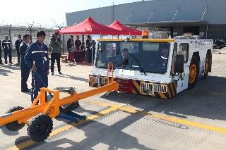 云南民航安全检查员技能大赛长水机场展风采