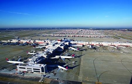 图:美国亚特兰大哈茨菲尔德-杰克逊国际机场