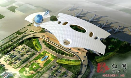 常德机场新航站楼5月投用 本期建设9个停机位