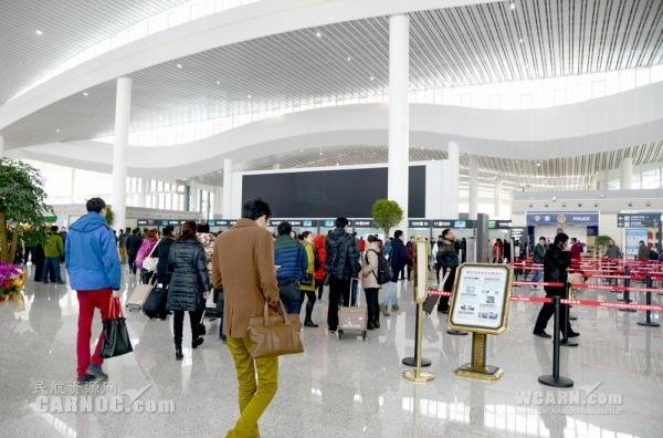 兰州中川国际机场T2航站楼2015年2月4日启用