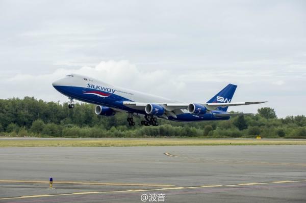 阿塞拜疆丝路航空增购3架波音747-8货机