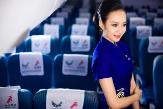 Shenzhen Airlines flight attendant Liu Miaomiao